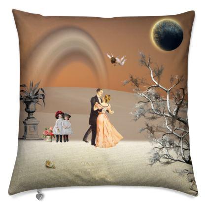 Victorian Era inspired  Luxury Cushion