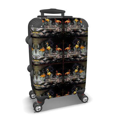 Flamingo Handgepäck Koffer Hartschale max. Cabin Size ninibing34