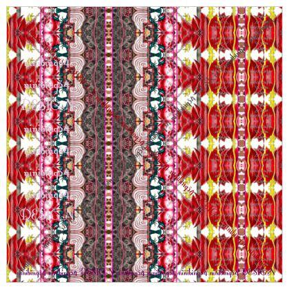 Maxituch 133 x 133 cm georgette Seide #ninibing34 Autumn Chill