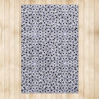 """Bahia Indigo"" Luxury Large Area Rug"