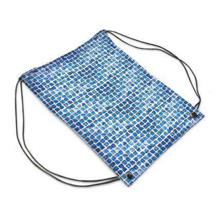Not Shibori waves swim bag