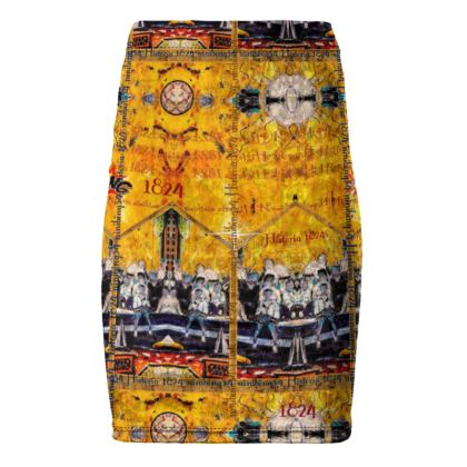 189,. Bleistiftrock HISTORIA 1824 size L #ninibing34 passt perfekt zum gleichnamigen T-Shirt als Ensemble
