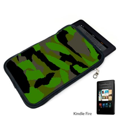 Camouflage Design Kindle Case