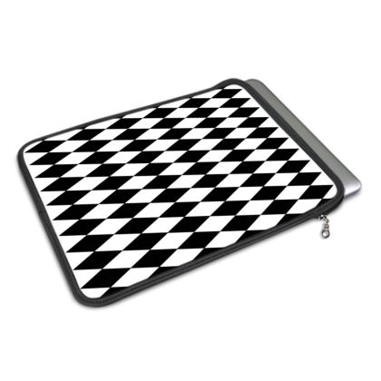 MacBook Air Cover Black And White