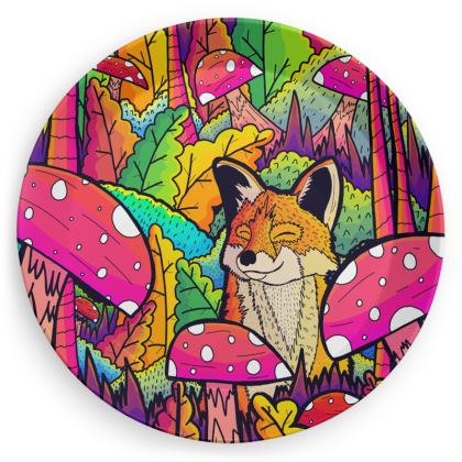Party Plates - The happy little fox