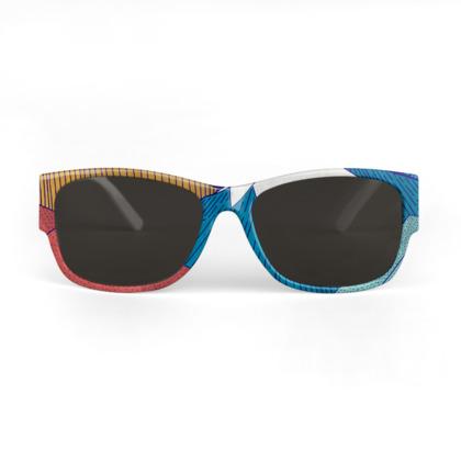 Sunglasses - Crosshatch Sky