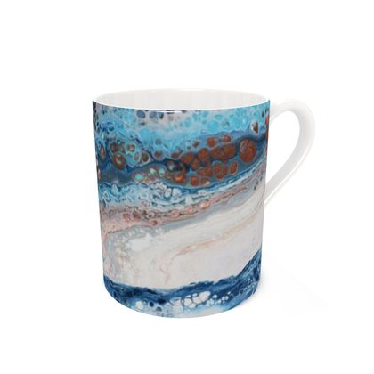 Glacial Flow - Bone China Mug