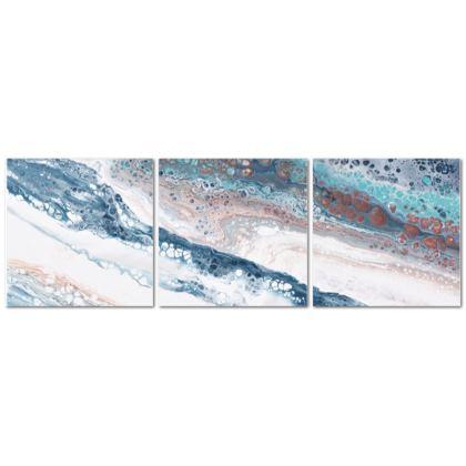 Glacial Flow - Triptych