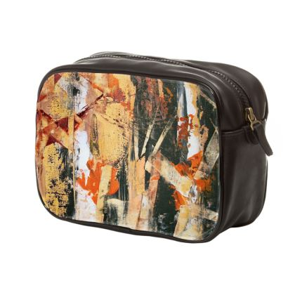 Mens unique Bamboo Wash Bag by Alison Gargett Artist and Designer
