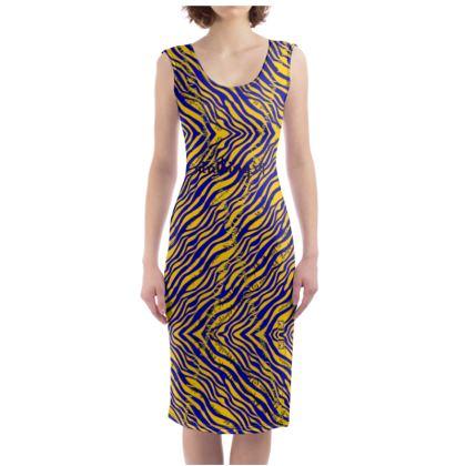 225,- Bodycon-Kleid #ninibing34 ANIMAL size L 40-42