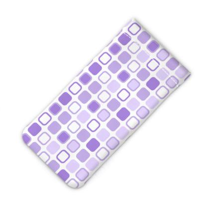 Retro Art Design Purple iPod Slip Case