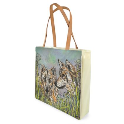 Wolves Shopper Bag