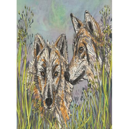 Wolves Tray