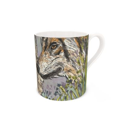 Wolves Bone China Mug