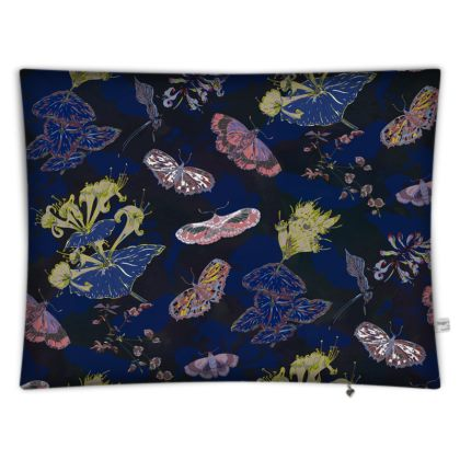 Night Flights Rectangular Floor Cushion