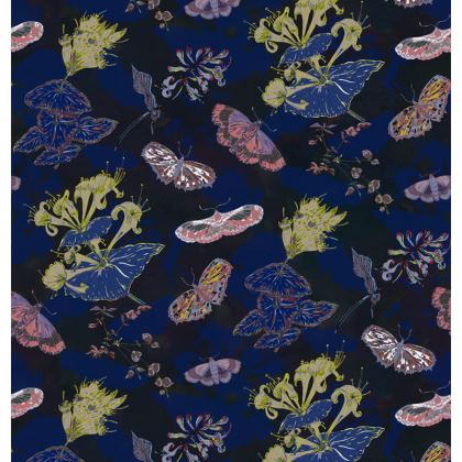 Night Flights Fabric Placemat