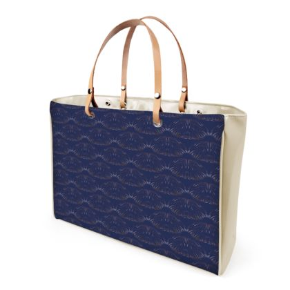 Midnight Foliage Handbag