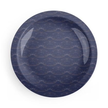 Midnight Foliage and Night Flights Party Plate Set