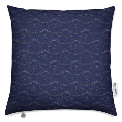 Midnight Foliage Cushion