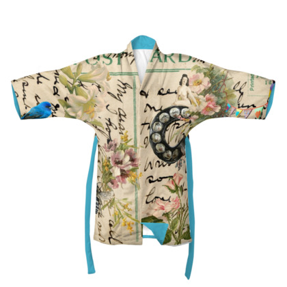 I'll Be In Touch Kimono