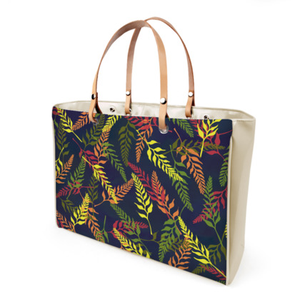 Tropical Foliage Handbag