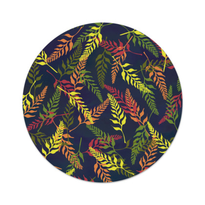 Tropical Foliage Serving Platter