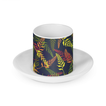 Tropical Foliage Cup