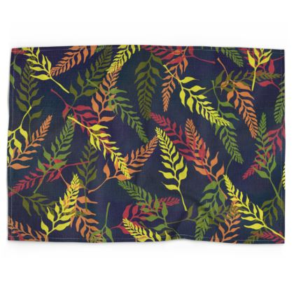 Tropical Foliage Tea Towel