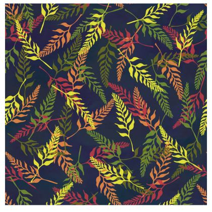 Tropical Foliage Fabric Placemat