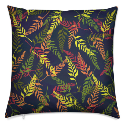 Tropical Foliage Cushion