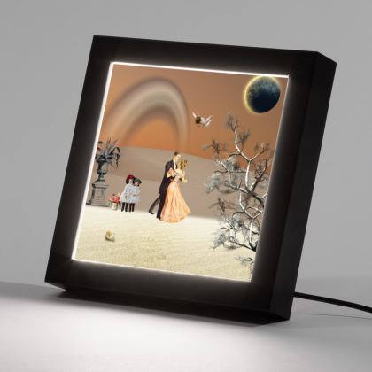 Victorian Era inspired  light LED Frame