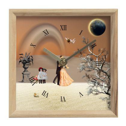 Victorian Era inspired Mantle Clock
