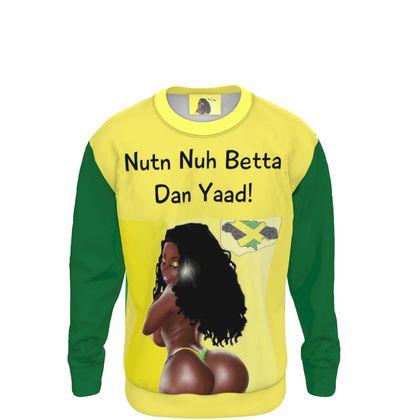 "Sweat  "" Nutn nuh betta Dan Yaad"" CARIBBEAN FASHION"
