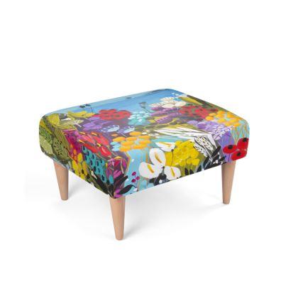 The Sea House footstool