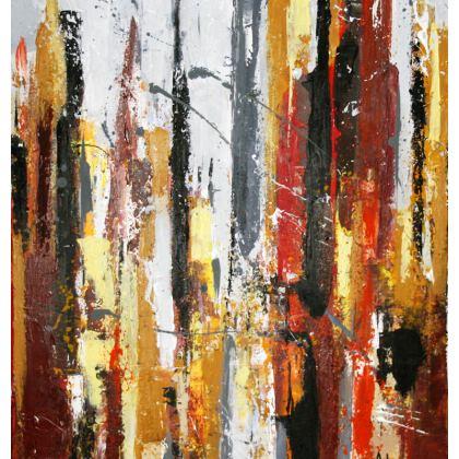Cityscape Cushion by Alison Gargett