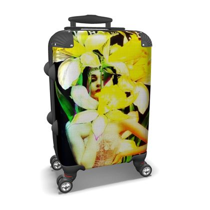 Daffodil Time Suitcase