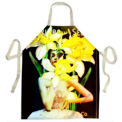 Daffodil Time Apron