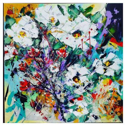 Hint of Autumn Cushion by Alison Gargett