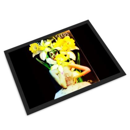 Daffodil Time Door Mat