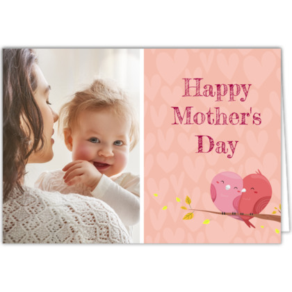 Landscape Mother's Day Photo Card
