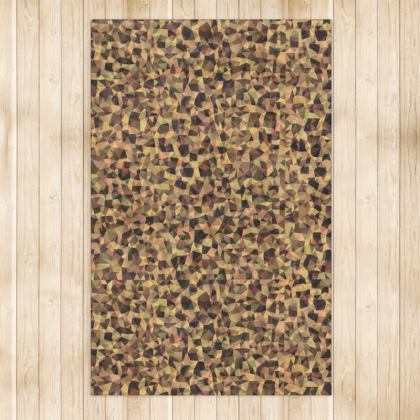"""Leopard Code"" Luxury Large Area Rug"