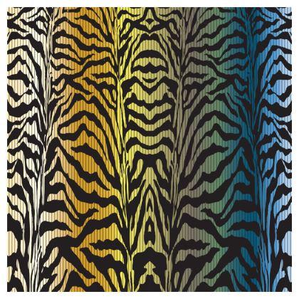 """""""Zebra Code"""" Luxury Velvet Cushion"""