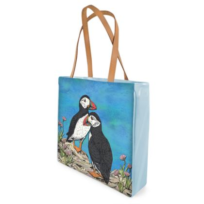 Puffins Shopper Bag