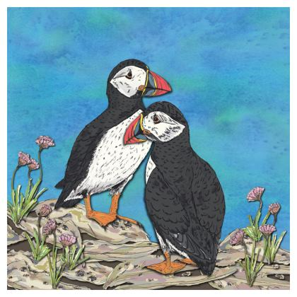 Puffins Coasters