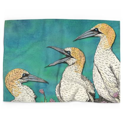 Gannets Tea Towel