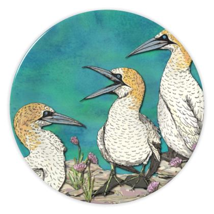 Gannets China Plate