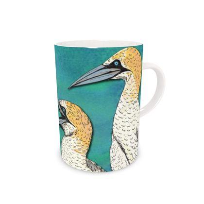 Gannets Bone China Mug