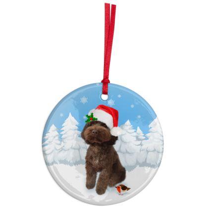 Christmas Ornaments chocolate poo