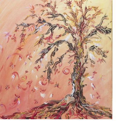 Flowing Tree Double Deckchair
