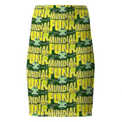 """Jupe crayon """" Funk Brasil 2 MODE LATINO"""